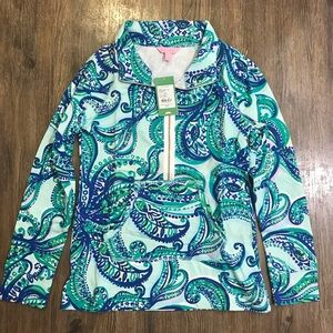 NWT Lilly Pulitzer Skipper Popover Keep It Current